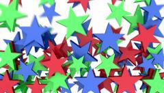 Falling stars - stock footage