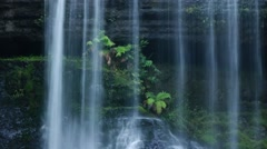Russel Falls - close up slow motion.mp4 Stock Footage