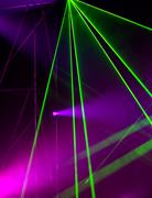 Laser light - stock photo