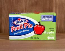 Box of Hostess Apple Fruit Pie Stock Photos