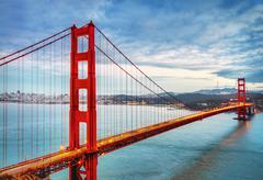 Golden Gate Bridge, San Francisco Stock Photos