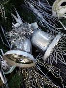 Christmas handbells - stock photo