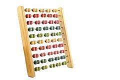 Coloured abacus Stock Photos