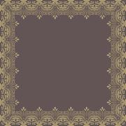 Floral  Pattern. Abstract Ornament Stock Illustration