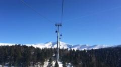 Snow Mountain  2 Stock Footage