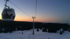 Snow Mountain  8 Stock Footage
