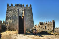 Trancoso castle - stock photo