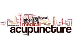 Acupuncture word cloud Piirros