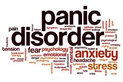 Panic disorder word cloud Piirros