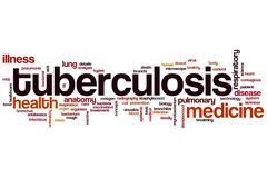 Tuberculosis word cloud - stock illustration