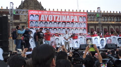 Ayotzinapa was the state - stock footage