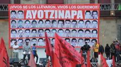 Music by Ayotzinapa - stock footage