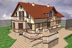 Stock Illustration of Major Cottage