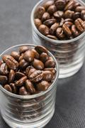 Arabica coffee beans Stock Photos