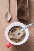 Arabica coffee cup Stock Photos