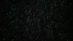 Water Slomo Shower Drops HD NTSC Stock Footage