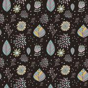 Adorable cartoon seamless pattern Stock Illustration