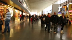 Termini Station in Rome, Italy. Stock Footage