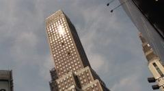 Manhattan Buildings - stock footage