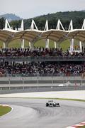 Sepang F1. April 2010 - stock photo