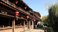 Garbage Collection Lijiang Stock Footage