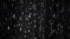 Water Shower Stripes Drops HD NTSC Stock Footage