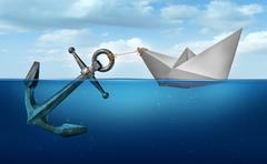 Determination Concept - stock illustration