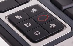 Stock Illustration of Buttons on a keyboard - Christian