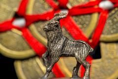 2015, Chinese year of the ram - stock photo