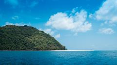 Koh Kai island Chumporn Thailand Stock Photos