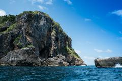 Koh Kai island Chumporn Thailand - stock photo