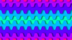 Transition Jaw Rainbow - stock footage