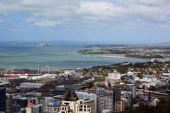 Auckland - stock photo