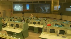 Apollo Mission Control Center from NASA Johnson Space Center, Stock Footage