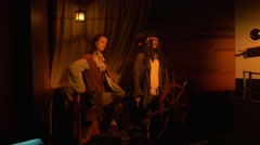 Pirates of the Caribbean, Hollywood Wax Museum, Branson Stock Footage