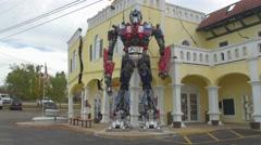 Optimus Prime Branson, Missouri Stock Footage