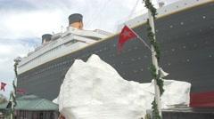 Titanic Museum in Branson, Missouri Stock Footage