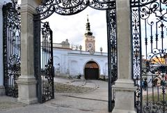 Main castle gate Stock Photos