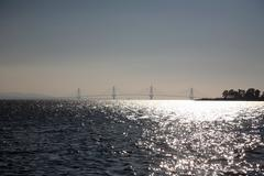 rio bridge - stock photo