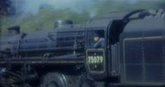 Old Train Ville de Dieppe 16mm 60s Vintage France Stock Footage