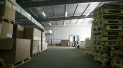 Warehouse shipping 3 Stock Footage