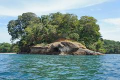Punta Uva on the Caribbean shore of Costa Rica - stock photo