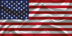 USA flag Stock Photos