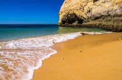 Beaches in the Algarve Stock Photos