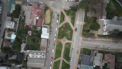 Village aerial Stock Footage
