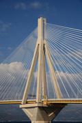 Rio antirio bridge Stock Photos