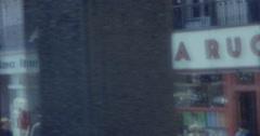 Ville de Dieppe 16mm 60s Vintage France 3 Stock Footage