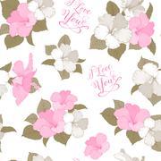 Bridal seamless pattern Stock Illustration