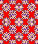 Seamless geometric pattern - stock illustration