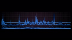 signal analysis - stock footage